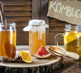 Kombucha, un té fermentado y muy refrescante